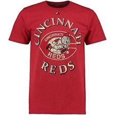 Majestic Cincinnati Reds First Among Equals Cooperstown Red T-Shirt (M)