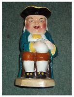 "VINTAGE LARGE BURLINGTON WARE (JOHN SHAW & SONS) CHARACTER JUG ""BOOZER"" 9"" Tall"