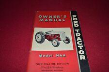 Ford Naa Tractor Operator's Manual Dcpa8