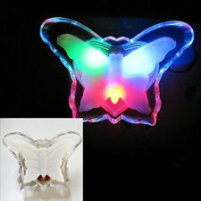 US plug LED Colorful Butterfly Bedside Night Light Lamp For child kids Bedroom