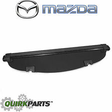 2013-2016 Mazda CX-5 Retractable Trunk Cargo Cover Shade Black OEM KD33-V1-350A