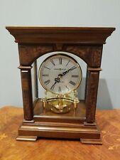 635-167  STATESBORO HOWARD MILLER   MANTEL CLOCK  IN CHERRY