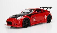 1/24 Nissan 350Z (2003) - JDM Tuners Diecast Model Car (Red)