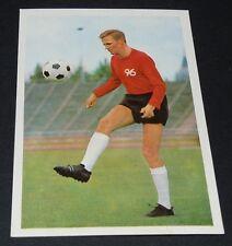 HEINZ STEINWEDEL HANNOVER 96 FUSSBALL 1966 1967 FOOTBALL CARD BUNDESLIGA PANINI