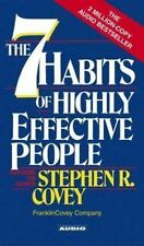 The Seven Habits of Highly Effective People by Stephen R. Covey (1989, Cassette,