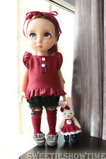 Disney Baby doll clothes Red dress Suits clothing Animator's collection NO DOLL