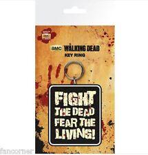 The walking Dead porte cles officiel en pvc sous blister TWD official keyring