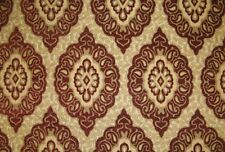 Upholstery Crimson Oval Chenille Upholstery Drapery Home fabric by the yard