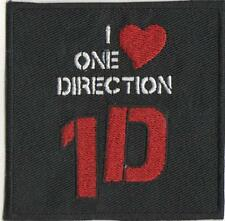 I LOVE ONE DIRECTION IRON ON PATCH BUY 2 GET 3