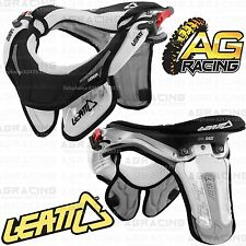 Leatt 2014 GPX Race Neck Brace Protector White Small Medium S/M Youth Enduro New
