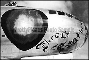 WW2 B-29 Superfortress 883rd BS 500th BG Three Feathers 8x12 Aircraft Photos