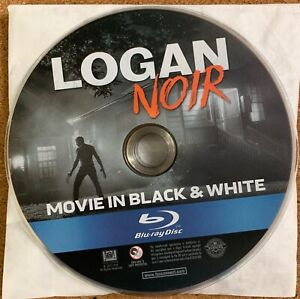 LOGAN NOIR BLU RAY 1 DISC ONLY MOVIE IN BLACK & WHITE FREE WORLD WIDE SHIPPING