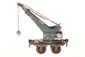 AC1292: Vintage Märklin Gauge1 Crane Wagon (1858/1)