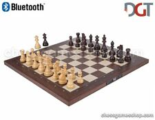 DGT BLUETOOTH Rosewood eBoard with ROYAL pieces - electronic chess - sensory