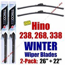 WINTER Wiper Blades 2pk Premium fit 2005-2014 Hino 238 268 338 - 35260/220
