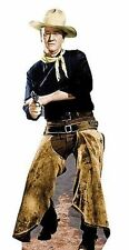 John Wayne Chaps Rifle Gun Western Movie Lifesize Standup Cardboard Cutout 501