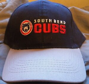 South Bend Cubs Adjustable Cap Stadium GIveaway Away Baseball Hat Chicago