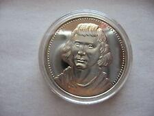 SILVER ROUND 7/8 OZ .925 FINE SILVER COIN SHABONEE POTAWATOMI INDIAN 1775-1859