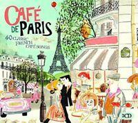 CAFE DE PARIS 2 CD NEU EDITH PIAF/TINO ROSSI/CHARLES TRENET/MAURICE CHEVALIER