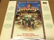 Jumanji  WS THX NEW SEALED Laserdisc LD Robin Williams SEALED BRAND NEW