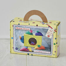 Buttonbag Easy Sewing Project for Kids, Mouse House - Childrens Sewing Kit
