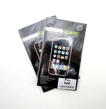 Six Clear Screen Guard Cover Shield for NOKIA LUMIA 710 Phone~ 6 Guards ~ New