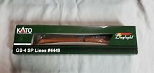 New ListingKato N Scale Gs-4 Sp Lines Southern Pacific Daylight Locomotive 4449