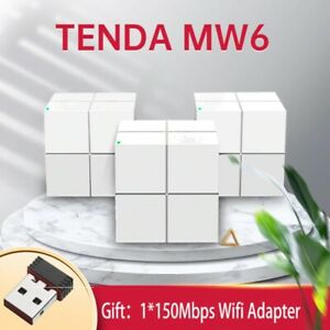 Tenda Nova Mesh MW6 Whole Home Mesh Gigabit WiFi Router System