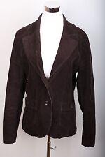 H&M Corduroy Button Up Coat Women's Size 16