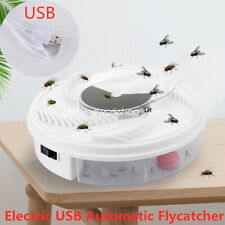 Electric USB Automatic Flycatcher Fly Trap Pest Reject Mosquito Control Killer
