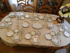 "Sheffield China ""Anniversary"" Japan Service for (8) with (5) Serving Pieces Plus"