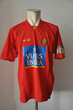 2006 - 2007 Mallorca Home Trikot / jersey real Gr. L maglia red Viajes Iberia