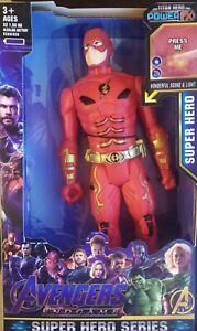 Flash personaggio Avengers 30 cm Sonoro