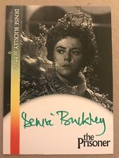 THE PRISONER: AUTOGRAPH CARD: DENISE BUCKLEY AS MAID DB2 - GREEN INK