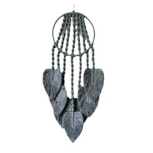 Wall Hanging Tapestry Macrame Dreamcatcher Woven Leaves Home Decor Ornament