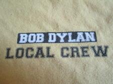 2010 BOB DYLAN Fall CREW Concert Tour (XL) T-Shirt