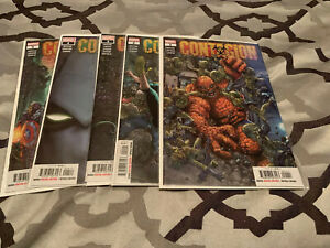 Contagion #1-5 2019 MARVEL Comics Complete Set Lot Series First Print