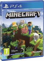 NEW & SEALED! Minecraft Bedrock Sony Playstation 4 PS4 Game