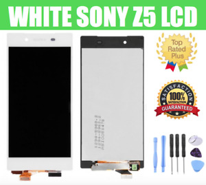 WHITE Sony Xperia Z5 Assembly LCD Digitizer Screen Replacement OEM E6603 E6603