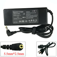 AC Power Supply Cord Charger Adapter for Toshiba Satellite P205-S6237 M305-S4848