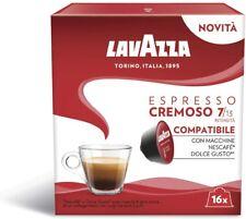 96 Capsule Lavazza Compatibili Nescafè Dolce Gusto Caffè Espresso Cremoso