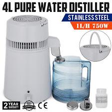 Home Water Distiller Purifier Filter dispenser destiller white Stainless Steel