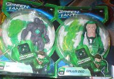 GREEN LANTERN MOVIE SERIES FIGURES HANNU AND GALIUS ZEO, W/POWER RINGS, HASBRO