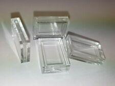 Kapseln für 1 Gramm Barren Gold, Silber, Platin 1g rechteckige Münzkapseln Dose