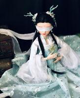 60cm BJD Doll Puppe 1/3 Kugelgelenk Mädchen Mit Wechselbare Augen Kleidung Girl