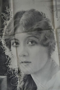 MARY PICKFORD ORIGINAL LITHOGRAPHIC FILM POSTER ANIMA LITHO COMPANY C. 1920's
