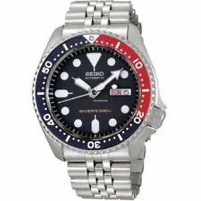 Seiko Men's SKX009K2 Diver's Analog Automatic Stainless Steel Blue Dial Watch
