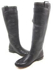 FRYE, PAIGE TALL RIDING CALF BOOTS, DARK BROWN, WOMEN'S US SIZE 6.5, EUR 39, NEW