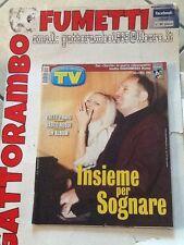 Tv Sorrisi e Canzoni N. 21  Anno 2000 Pravo-Vasco Rossi Mondadori Ottimo