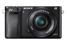 Sony Alpha ilce-6000 NEGRO + 16-50mm OSS NUEVO del distribuidor A6000